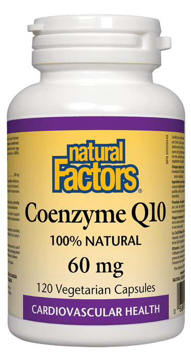 Natural Factors Coenzyme Q10 60 mg