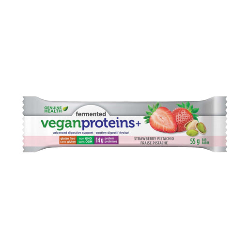 Genuine Health Fermented Vegan Proteins+ Strawberry Pistachio