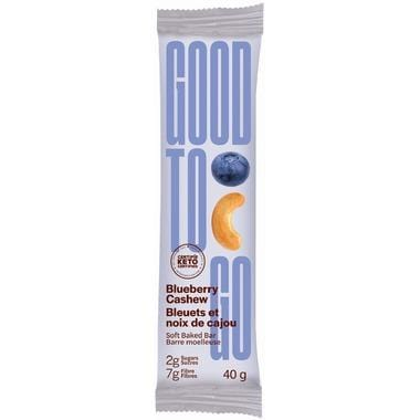 Good To Go Blueberry Cashew Keto Bar 40 g Single Bar