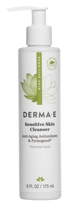 Derma E Sensitive Skin Cleanser with Pycnogenol 175 ml