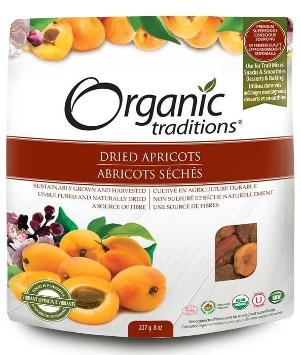 Organic Traditions Dried Apricots
