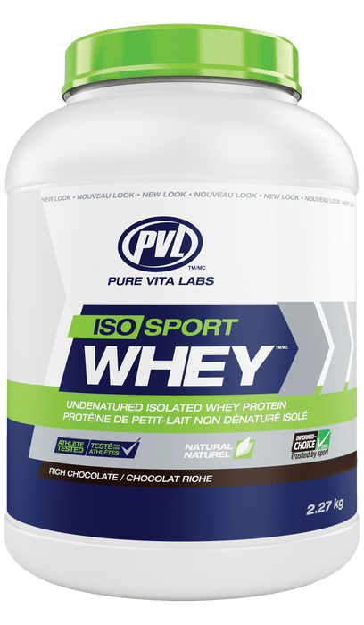 PVL Essentials Iso Sport Whey Rich Chocolate