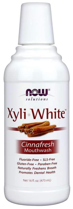 NOW XyliWhite Cinnafresh Mouthwash