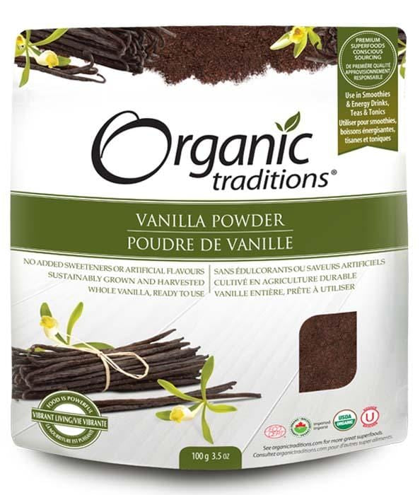 Organic Traditions Vanilla Powder