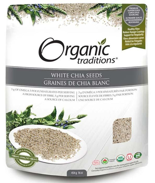 Organic Traditions White Chia Seeds