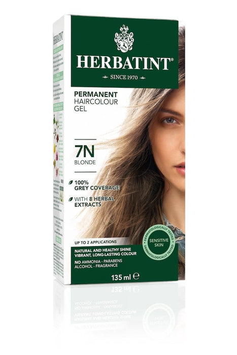 Herbatint Permanent Herbal Haircolor Gel - 7N Blonde