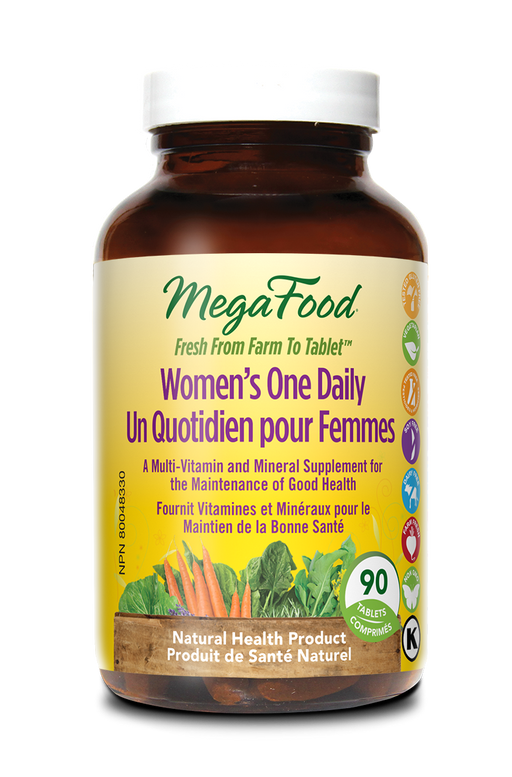 MegaFood Women's One Daily 90 Tablets
