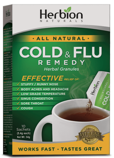 Herbion Naturals Cold & Flu Remedy
