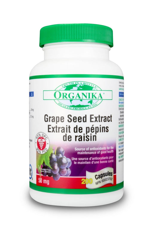 Organika GRAPE SEED EXTRACT (95 % OPC) 50MG