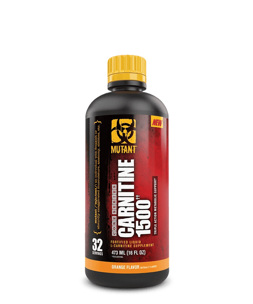Mutant Carnitine 1500 Orange Flavour 473 mL