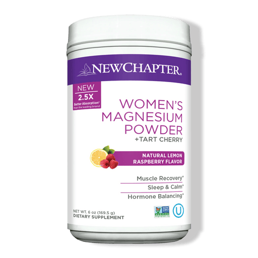New Chapter Women's Magnesium Powder 70 Servings