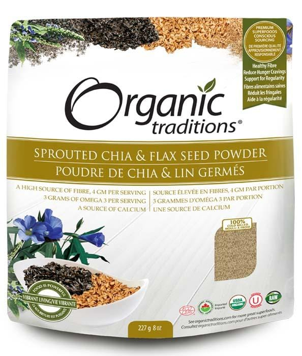 Organic Traditions Sprouted Omega Chia/Flax