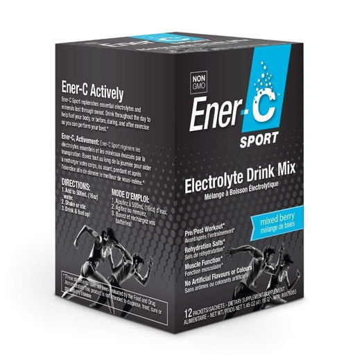Ener-C Sport Electrolyte Drink Mix Mixed Berry (Short Dated)
