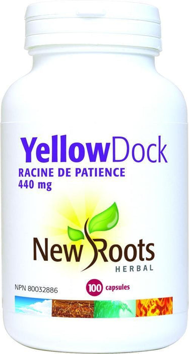 New Roots YELLOW DOCK 440 MG