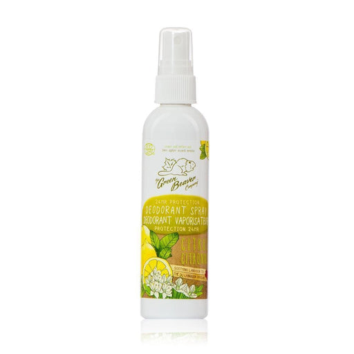 Green Beaver Deodorant Spray Citrus