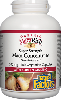 Natural Factors Organic Super Strength Maca