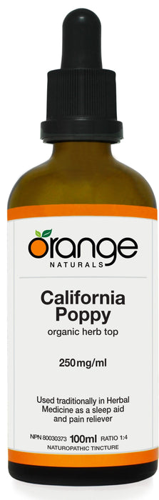 Orange Naturals California Poppy