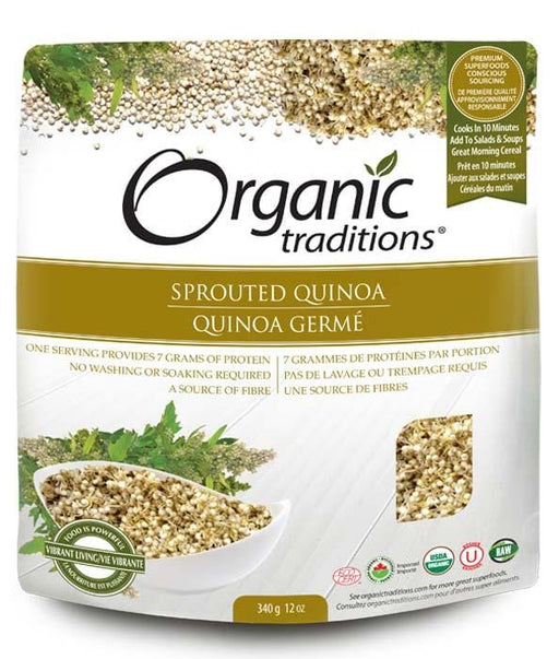 Organic Traditions Sprouted Quinoa