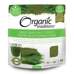 Organic Traditions Certified Organic Barley Grass Juice Powder