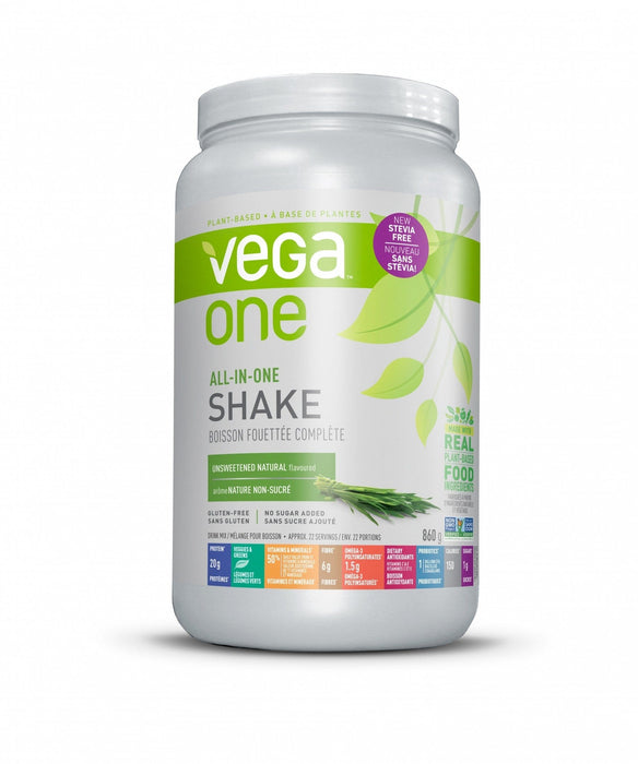 Vega One All-In-One Shake Unsweetened Natural Flavoured