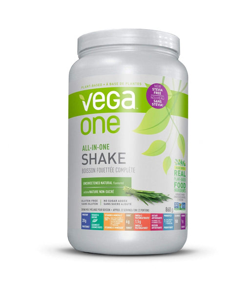 Vega One All-In-One Shake Unsweetened Natural Flavoured (Short Dated)