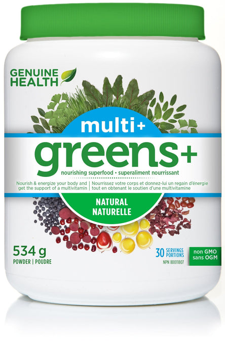 Genuine Health Greens+ Multi+ 534 g