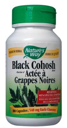 Nature's Way Black Cohosh 540 mg