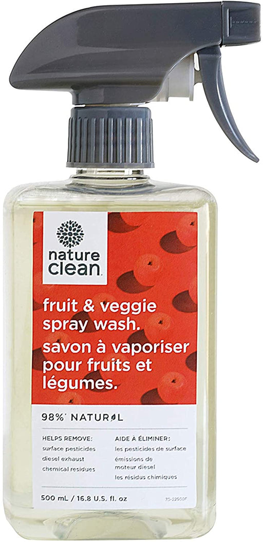 Nature Clean Fruit & Veggie Spray Wash