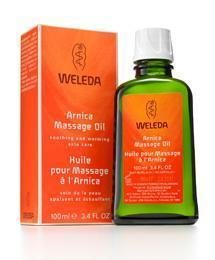 Weleda Arnica Massage Oil 3.4 fl oz/100ml