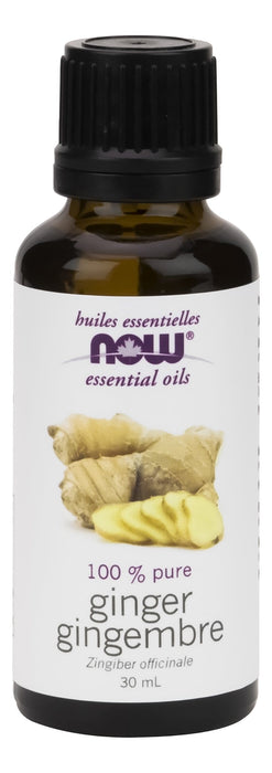 NOW Ginger Oil (Zingiber officinale) 30 mL