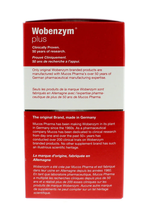 Mucos Wobenzym Plus 240 Tablets