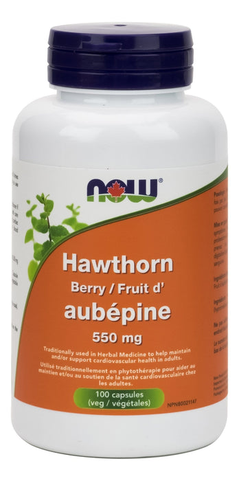 NOW Hawthorn Berry 550 mg