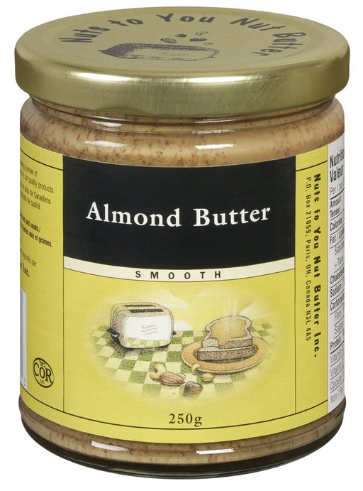 Nuts to You Nut Butter Almond Butter - Smooth