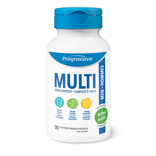 Progressive MultiVitamin for Active Men 30 Capsules