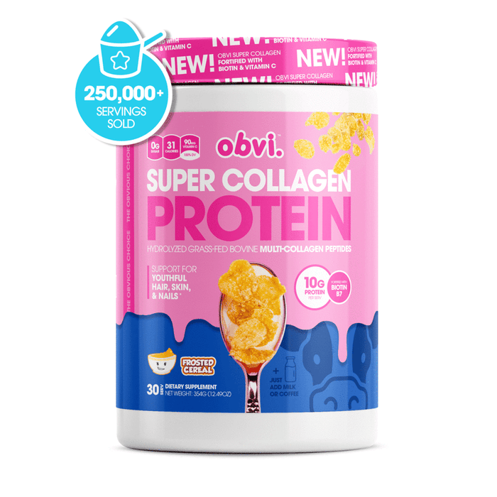 Obvi Super Collagen Protein Frosted Cereal 30 Servings