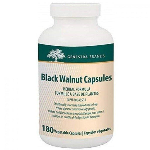 Genestra Black Walnut Capsules Herbal Formula Vegetable Capsules