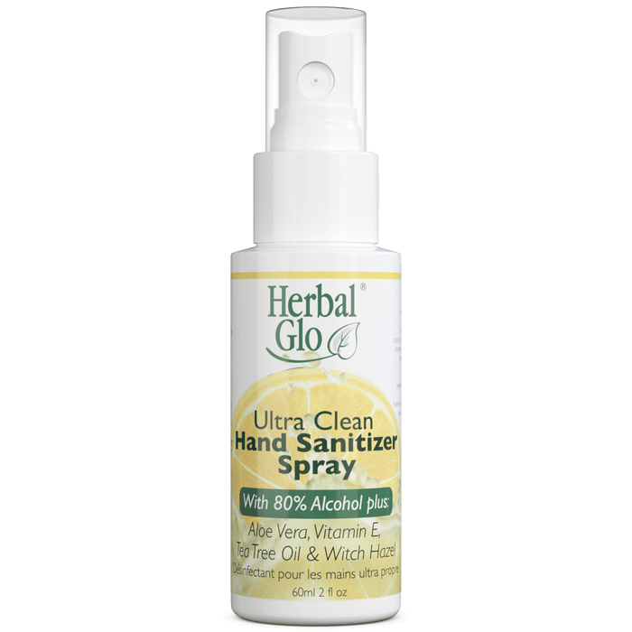 Herbal Glo Ultra Clean Hand Sanitizer Spray 60 ml