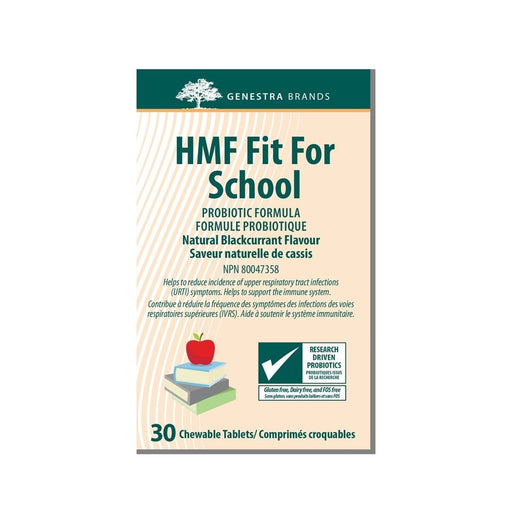 Genestra HMF Fit for School Probiotic 30 Chewable Tablets