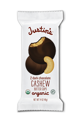 Justin's Organic Dark Chocolate Cashew Butter Cups