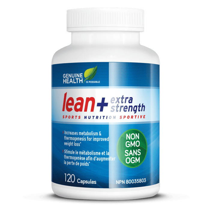 Genuine Health Lean+ Extra Strength 120 Capsules