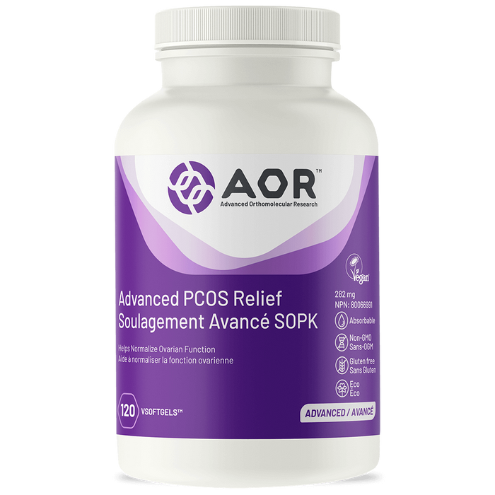 AOR Advaned PCOS Relief 120 Capsules