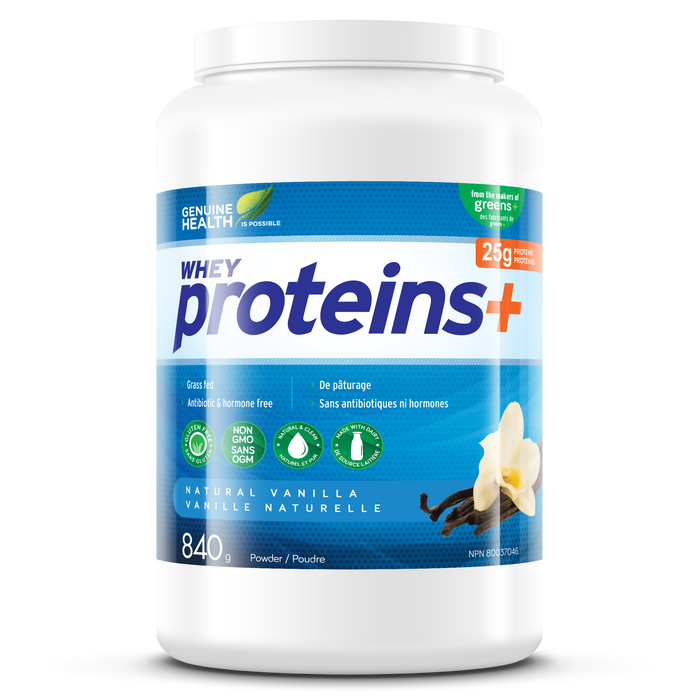 Genuine Health proteins+ natural vanilla