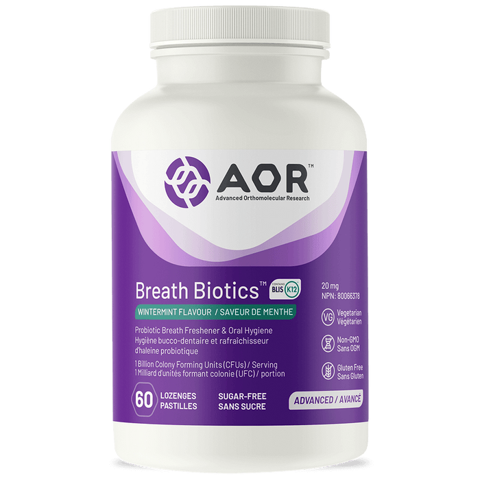 AOR Breath Biotics with BLIS K12