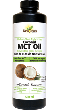New Roots Coconut MCT Oil 500 mL