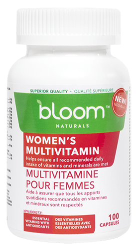 Bloom Naturals Women's Multivitamin 100 Capsules