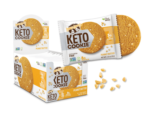 Lenny & Larry's Keto Cookie Peanut Butter 12x1.6 oz Cookies
