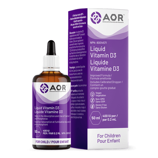 AOR Vitamin D3 Liquid 50 ml (Child)