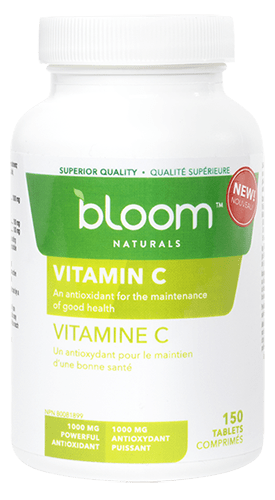Bloom Naturals Vitamin C 150 Tablets (Short Dated)