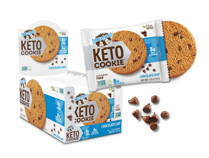 Lenny & Larry's Keto Cookie Chocolate Chip 12x1.6 oz Cookies
