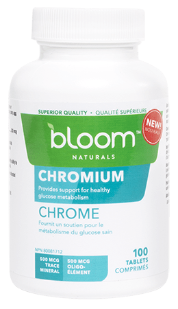 Bloom Naturals Chromium 100 Tablets